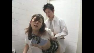 หนังโป๊ญี่ปุ่นนักเรียนสาวม.ต้นงานดีโครตเซ็กซี่แอบไปเอากับรุ่นพี่ในห้องเก็บของ